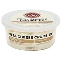 Primo Taglio Cheese Crumbles, Feta Food Product Image