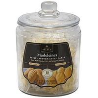 Safeway Select French Style Cakes Petite, Madeleines, Classic/Lemon Food Product Image