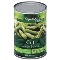 Signature Green Beans Cut Food Product Image