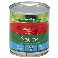 Signature Tomato Sauce No Salt Added Food Product Image