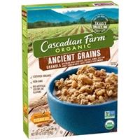 Cascadian Farm Organic Ancient Grains Granola Food Product Image
