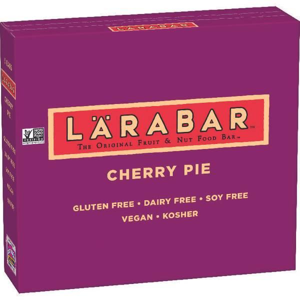 Larabar Cherry Pie Bars Food Product Image