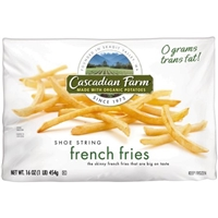 Cascadian Farm Organic Shoestring Fries Food Product Image