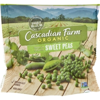 Cascadian Farm Organic Sweet Peas Food Product Image