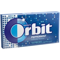 Wrigley's Orbit Sugarfree Gum Peppermint - 14 CT Food Product Image