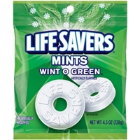Life Savers Wint-O Green Mints, 4.5 oz Food Product Image