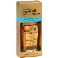 OGX Penetrating Oil for All Hair Types Renewing Argan Oil of Morocco Food Product Image