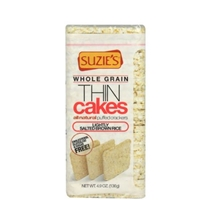 Suzies Thin Cakes Puffed, Brown Rice, Lightly Salted Food Product Image