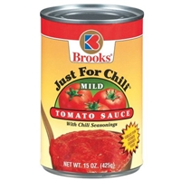 Brooks Tomato Sauce With Chili Seasonings Mild Food Product Image