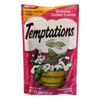 Whiskas Temptations Blissful Catnip Flavor Cat Treats Food Product Image