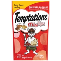 Tempations MixUps Backyard Cookout Treats for Cats Food Product Image