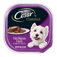 Cesar Classics Caninie Cuisine Filet Mignon Flavor Food Product Image