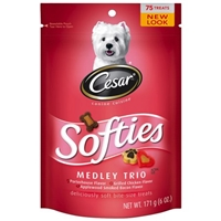 Cesar Softies Medley Trio Dog Treats Food Product Image