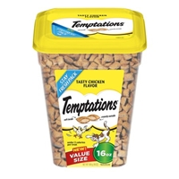 Temptations Cat Treats Tatsy Chicken Flavor Food Product Image