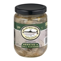 Blue Hill Bay Smoked Seafood Herring in Dill Marinade Food Product Image