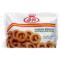 La Fe Onion Rings Food Product Image