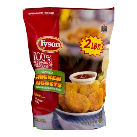 Tyson Chicken Nuggets Food Product Image