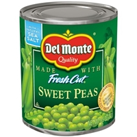 Del Monte Fresh Cut Sweet Peas Food Product Image