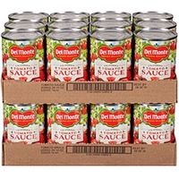 Del Monte Tomato Sauce California Food Product Image