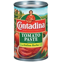 Contadina Tomato Paste With Italian Herbs Food Product Image