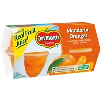 Del Monte Mandarin Oranges In Light Syrup - 4 CT Food Product Image