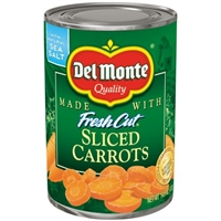 Del Monte Fresh Cut Sliced Carrots Food Product Image