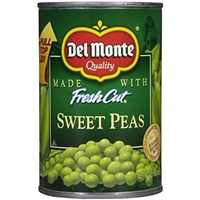 Del Monte Fresh Cut Sweet Peas Food Product Image