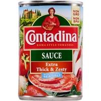 Contadina Extra Thick & Zesty Tomato Sauce Food Product Image