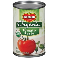 Del Monte Organic Tomato Paste Food Product Image