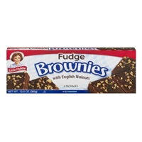 Little Debbie English Walnuts Fudge Brownies - 12 CT Food Product Image
