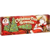 Little Debbie Christmas Tree Brownies Food Product Image