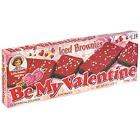 Little Debbie Be My Valentine Brownies Iced, Pre-Priced Food Product Image