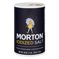 Morton Iodized Salt Food Product Image