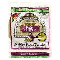 Tumaro's Gourmet Tortillas  Healthy Flour Tortillas Food Product Image