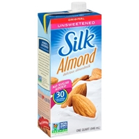 Silk Almond Almondmilk Unsweetened Original Food Product Image
