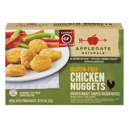 Applegate Naturals Chicken Nuggets Gluten-Free - 18 CT Food Product Image