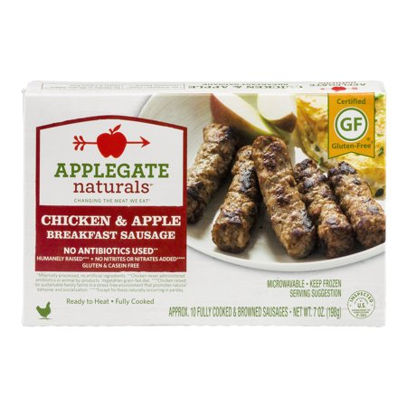 Applegate Naturals Chicken & Apple Breakfast Sausage - 10 CT Food Product Image