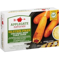 Applegate Naturals Corn Dogs Uncured Beef Gluten-Free - 4 CT Food Product Image