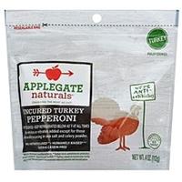 Applegate Naturals Uncured Turkey Pepperoni Food Product Image