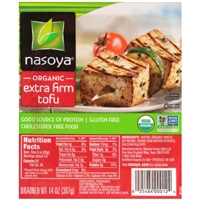 Nasoya Organic Tofu Extra Firm Food Product Image