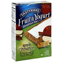 Tastykake Breakfast Bars Apple Cinnamon Food Product Image