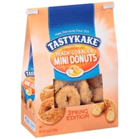 Tastykake Peach Cobbler Mini Donuts - Spring Edition Food Product Image