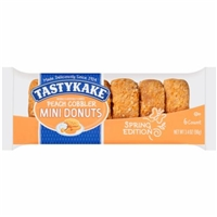 Tastykake Peach Cobbler Mini Donuts Food Product Image