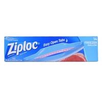 Ziploc Double Zipper Bags Freezer Gallon - 15 CT Food Product Image