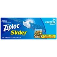 Ziploc Quart Freezer Slider Food Product Image