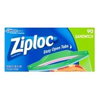 Ziploc Bags Sandwich - 90 CT Food Product Image