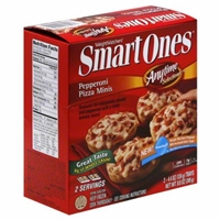 Weight Watchers Smart Ones Anytime Selections Pepperoni Pizza Minis Food Product Image
