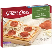 Weightwatchers Smart Ones Thin Crust Pepperoni Pizza Food Product Image