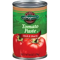 Haggen Tomato Paste Thick & Hearty Food Product Image