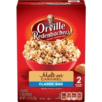 Orville Redenbacher's Caramel Popcorn Food Product Image
